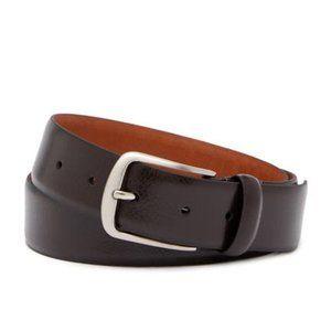 BOCONI Men's Brown Leather Belt